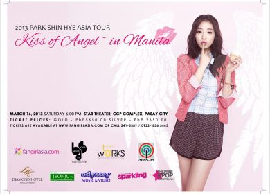 Park Shin Hye Asia Tour – Kiss of Angel in Manila (2013)